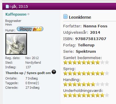 Leoniderne Boggnasker 25-08-2014