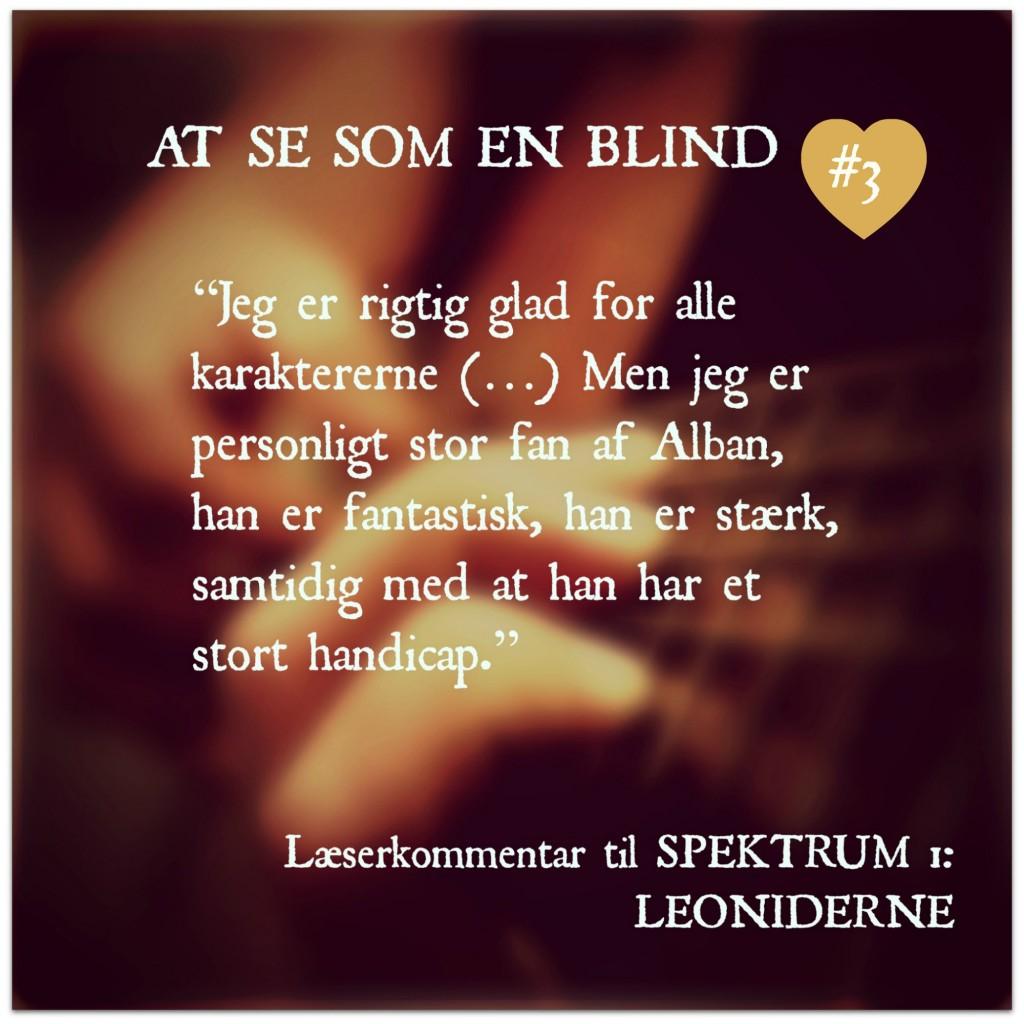 At se som en blind #3