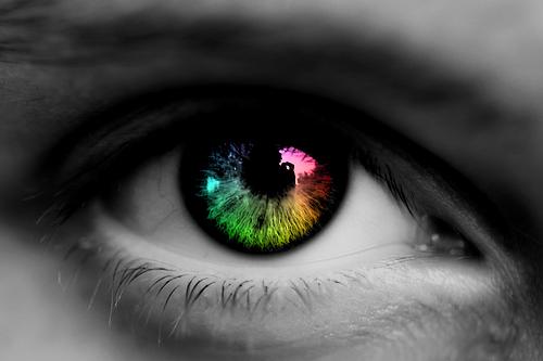 spektrum øje